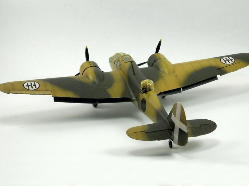 Airfix 1/72] Blenheim in spaghetti style - Axis History Forum
